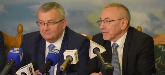 MINISTER ADAMCZYK: Inwestycje w Sanoku to efekt świetnej współpracy miasta z rządem PiS (FILM, ZDJĘCIA)
