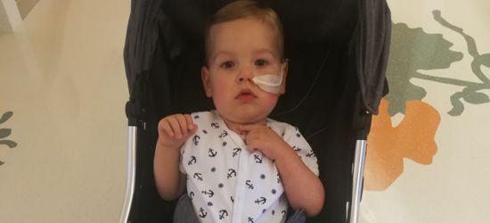 Dwa tygodnie po operacji. Julek opuścił szpital!