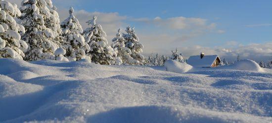 POWIAT SANOCKI: Dzisiaj intensywne opady śniegu