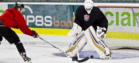 SANOK: Sól hokeja, czyli nasi rozpoczynają treningi na lodzie (ZDJĘCIA)