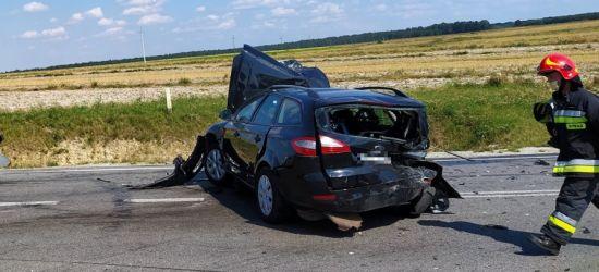 PODKARPACIE. Wypadek na obwodnicy. 8 osób rannych (ZDJĘCIA)
