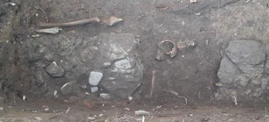 SANOK: Archeolodzy odkryli cmentarz i fragmenty miejskiego muru! (ZDJĘCIA)