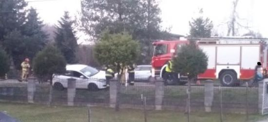 ZABŁOTCE: Fiatem najechał na tył opla (FOTO)