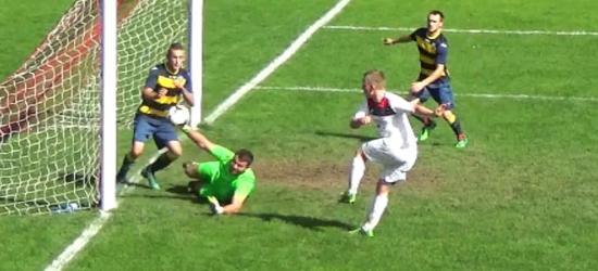 OSŁAWA ZAGÓRZ: Nelson szybko zaatakował. Błąd bramkarza pozwolił uratować punkt (SKRÓT, VIDEO)