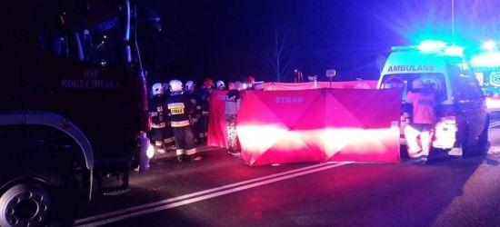 PODKARPACIE: Tragedia na drodze. Nie żyje 67-letni mężczyzna