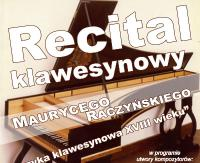 PSM SANOK ZAPRASZA: Recital klawesynowy Maurycego Raczyńskiego