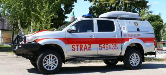 OSP w Niebieszczanach bogatsza o lekki samochód pożarniczy (ZDJĘCIA)