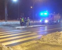 WRACAMY DO TEMATU: Kierująca nie zachowała ostrożności. Potrącona piesza trafiła do szpitala (ZDJĘCIA)