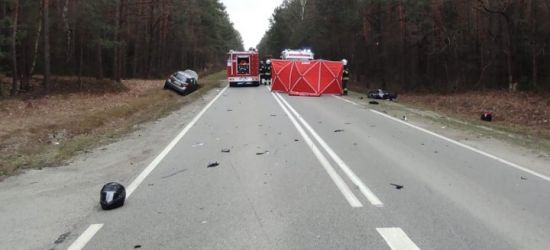 PODKARPACIE: Tragedia na drodze. Zginęła kobieta jadąca skuterem