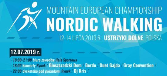 Górskie Mistrzostwa Europy Nordic Walking w Ustrzykach Dolnych