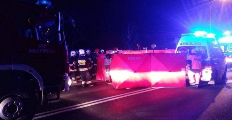 REGION: Tragiczny wypadek. 30-latek uderzył w betonowy słup. Nie przeżył