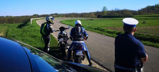 Policjanci skupili się na motocyklistach. Jaki efekt?