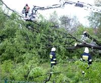 GMINA SANOK: Pozrywało dachy i powyrywało drzewa (ZDJĘCIA)
