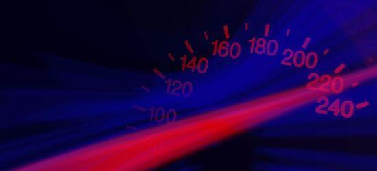 REGION: 162 km/h w terenie zabudowanym!