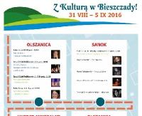 """NASZ PATRONAT: """"Z Kulturą w Bieszczady!"""" projekt kulturalno- edukacyjny w Uhercach Mineralnych"""
