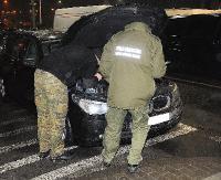 Kradzione BMW na granicy. Ukrainiec próbował wywieźć pojazd z UE (ZDJĘCIA)