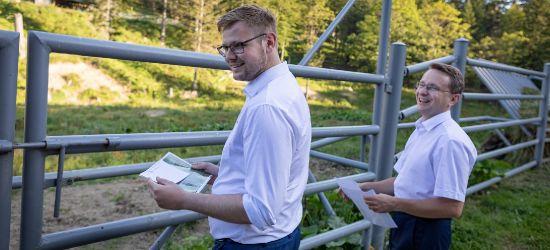 Ścieżka rowerowa z Lisznej do Tyrawy Solnej? Minister środowiska na TAK! (VIDEO, ZDJĘCIA)