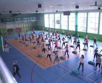 ZAGÓRZ: Pierwsza, wiosenna edycja Fitness Day. W trzygodzinnym maratonie wzięło udział 80 entuzjastek zdrowego stylu życia (ZDJĘCIA)