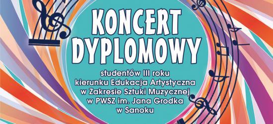 Koncert dyplomowy studentów PWSZ w Sanoku