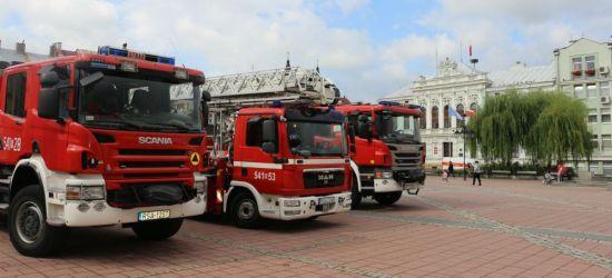 Sanok otrzyma nowy wóz strażacki za blisko milion złotych!