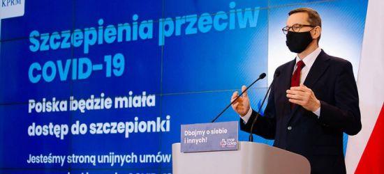 Do Polski trafią szczepionki przeciw COVID-19. Premier: Będą dobrowolne (VIDEO)