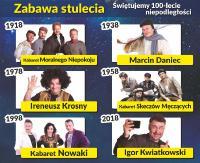 Polska Noc Kabaretowa 2018: Zabawa stulecia – Świętujemy 100-lecie Niepodległości