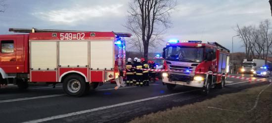 KRONIKA STRAŻACKA: Interwencja przy śmiertelnym wypadku, pożar sadzy i czad