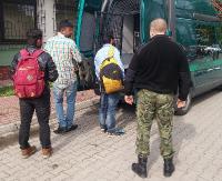 Trzech obywateli Indii i Rosjanin. Nielegalni imigranci zatrzymani na polsko – ukraińskiej granicy