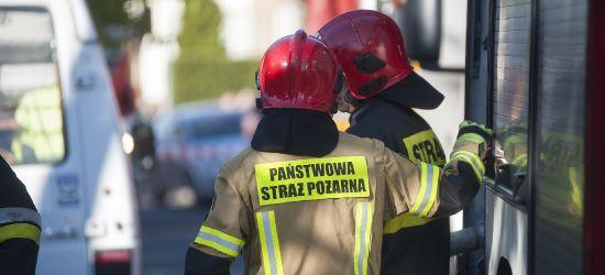 SANOK: Pożar w jednej z firm przy ul. Przemyskiej. Ewakuacja 30 pracowników