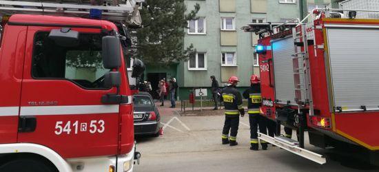 AKTUALIZACJA SANOK: Pożar w kuchni w mieszkaniu na ulicy Robotniczej (FOTO)