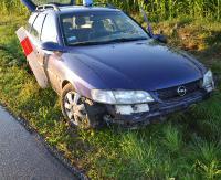 Straciła panowanie nad pojazdem i wjechała do rowu (ZDJĘCIA)