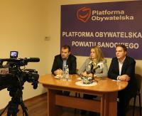 Regionalne struktury PO rozwiązane, ale w partii szykują się zmiany. W powiecie sanockim będzie wspólny kandydat opozycji na burmistrza?