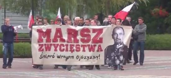 """Po raz IV ulicami Sanok przejdzie Marsz Zwycięstwa z okazji ,,Cudu nad Wisłą"""" (FILM)"""
