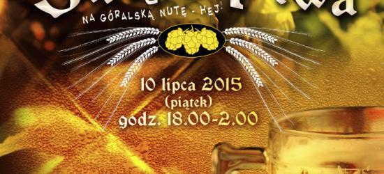 Jaś Wędrowniczek zaprasza na Festiwal Piwa po zbójnicku