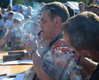 W kłębach dymu prosto z fajki. Grabowiański Festiwal Folklorystyczny ma swój niepowtarzalny klimat (ZDJĘCIA)
