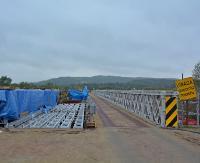 DOBRA: Trwa remont mostu. Mieszkańcy długo czekali na te prace (ZDJĘCIA)
