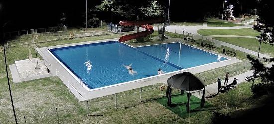 REGION: Nocne włamanie na basen (ZDJĘCIA)