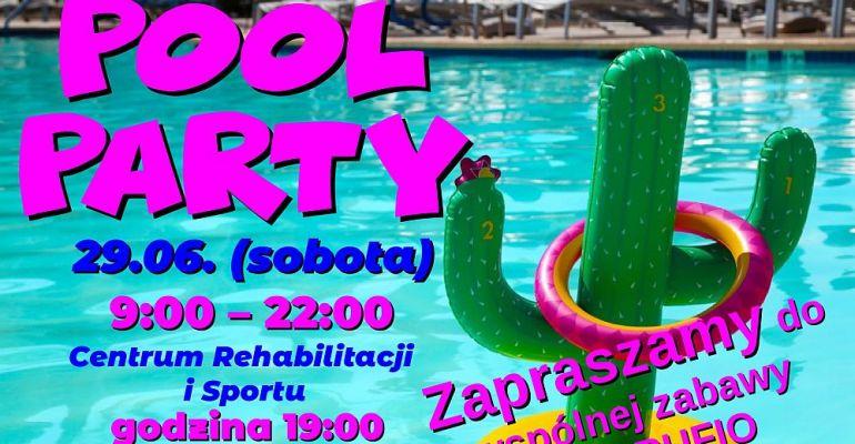 Może impreza w basenie? Pierwsze sanockie pool party. SPRAWDŹ!