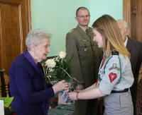 W czasie wojny była łączniczką AK. Dzisiaj Maria Skalny otrzymała nominację na stopień porucznika (ZDJĘCIA)