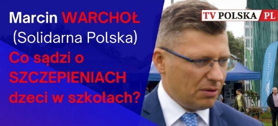 Marcin WARCHOŁ o EKSPERYMENTACH medycznych w SZKOŁACH