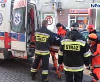 SANOK: Wypadek z udziałem nieoznakowanej, policyjnej vectry. Dwóch funkcjonariuszy w szpitalu (FILM, ZDJĘCIA)