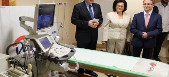 SANOK: Badania USG na najwyższym poziomie. Do szpitala trafił aparat za 320 tys. zł (FILM)