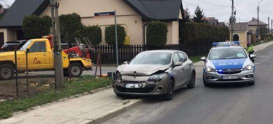 SANOK: Renault wjechał w tył hondy (FOTO)