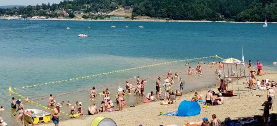 Cztery strzeżone kąpieliska w Bieszczadach! Dwa razy dłuższe plaże. Kto się wybiera? (FOTO)