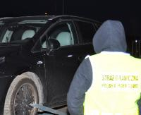 REGION: Kradziona Toyota zatrzymana podczas kontroli drogowej