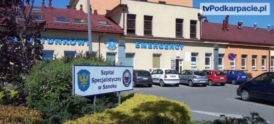 Dyrektor sanockiego szpitala o ostatnim wydarzeniu na SOR (OŚWIADCZENIE)