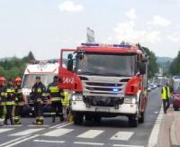 KRONIKA STRAŻACKA: Pożar kontenera na śmieci, wypadki i połamane drzewa na drodze