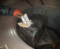4 tys. paczek papierosów w kontenerze z blachą (ZDJĘCIA)