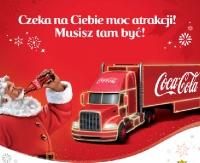 Sanok na trasie Świątecznej Ciężarówki Coca – Cola!