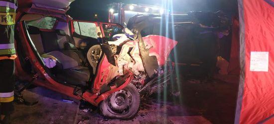 Koszmarny wypadek w Bliznem! Dwie osoby nie żyją, dwie są ciężko ranne! (ZDJĘCIA)